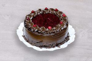 Torta Panqueque Chocolate Frambuesa